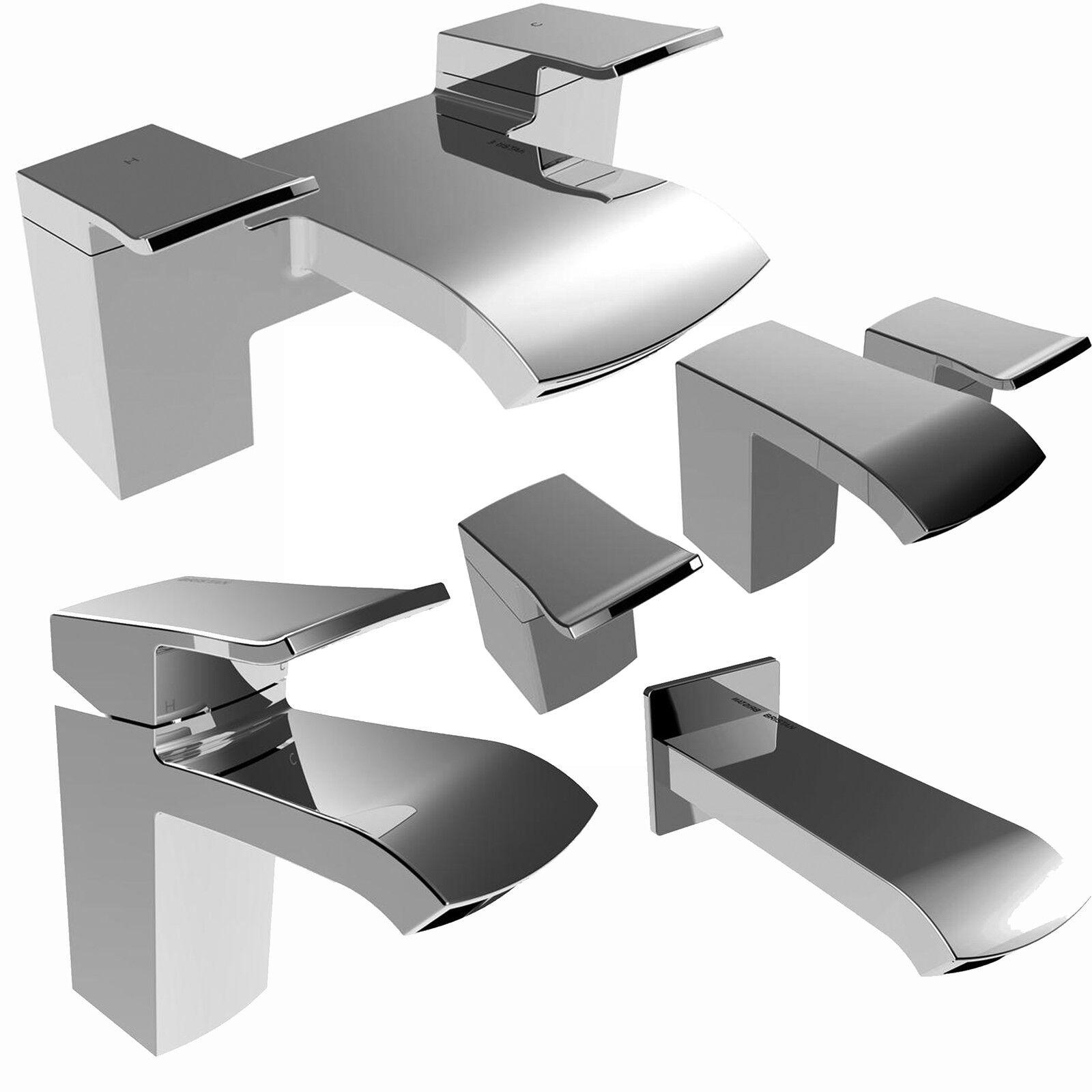 Bristan descente Robinets Mélangeur Lavabo Bain Douche Remplissage Chrome mono set salle de bain