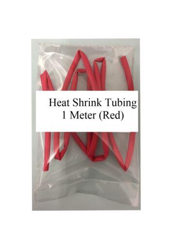 Red Heat Shrink Tubing 1 M 2:1 Ratio 19.1mm//9.6mm CTIE HST19.1//9.6R