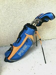 Ping Moxie Rh Junior Golf Set 6 Clubs Youth Boys Girls With Bag And Rain Cover Ebay