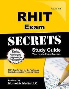 rhit exam secrets study guide rhit test review for the registered rh ebay com RHIT Exam Flashcards RHIT Study Best Book
