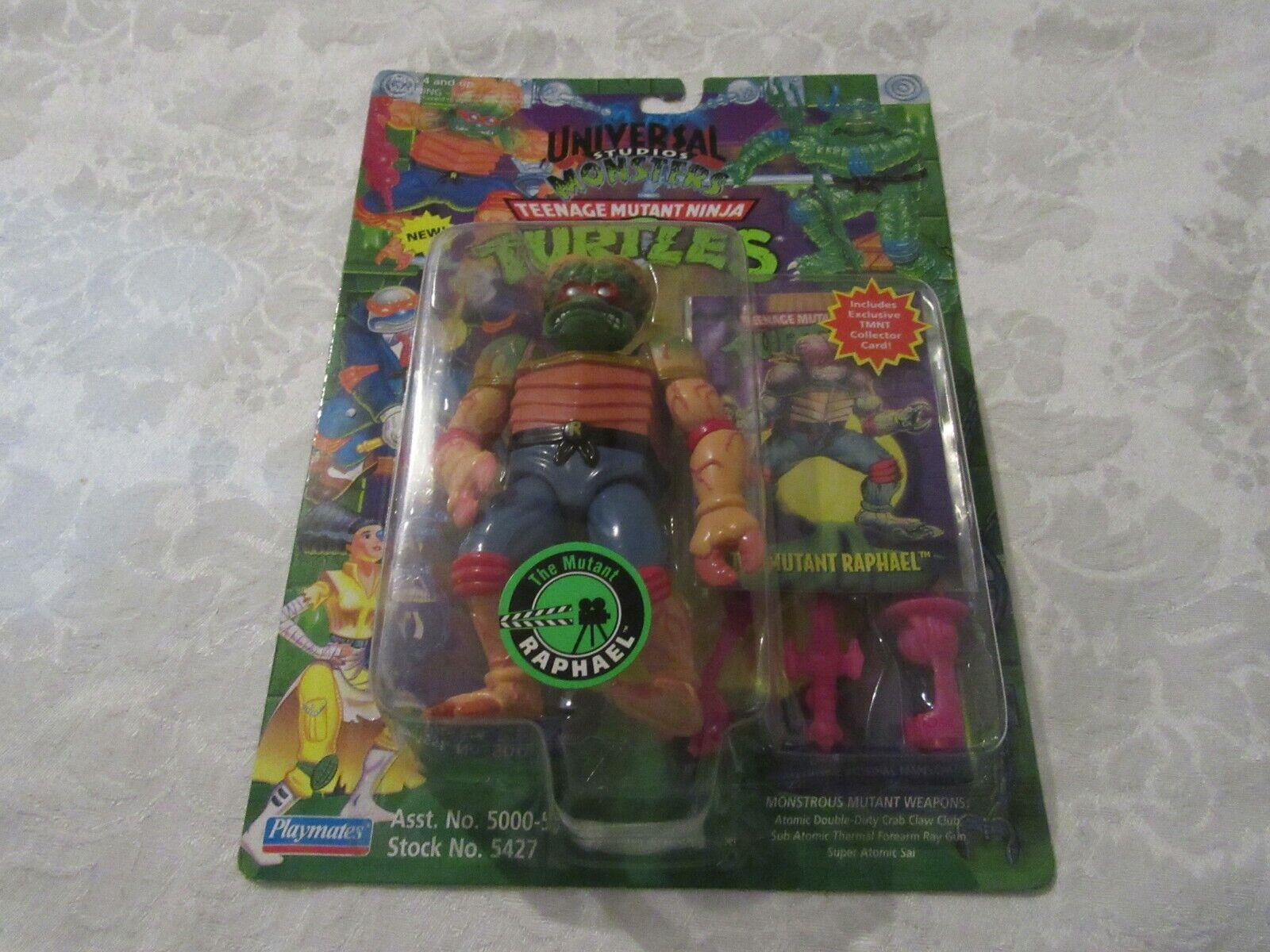Tmnt Teenage Mutant Ninja Turtles Figura De Universal Studios los Mutantes Raphael