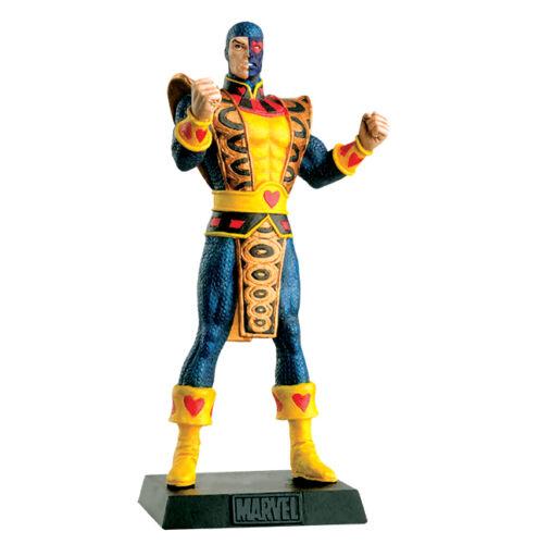 JACK OF HEARTS Lead METAL Figure 121 Marvel EAGLEMOSS Collection MINT BOX No Mag