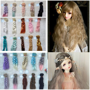 Doll-Wig-Hair-for-1-3-1-4-1-6-BJD-SD-Dollfie-Dolls-DIY-Making-Accessories-15cm