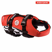 EZYDOG DOG FLOTATION DEVICE - Life Jackets For Dogs - Red Small FLOAT