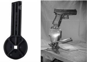 Gunsmith Handgun Vise Block for Glock 9mm Luger.40 S&W and ...