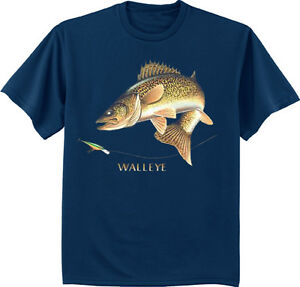 Men S Big And Tall T Shirt Walleye Shirt Fishing Tall Tee Shirt For