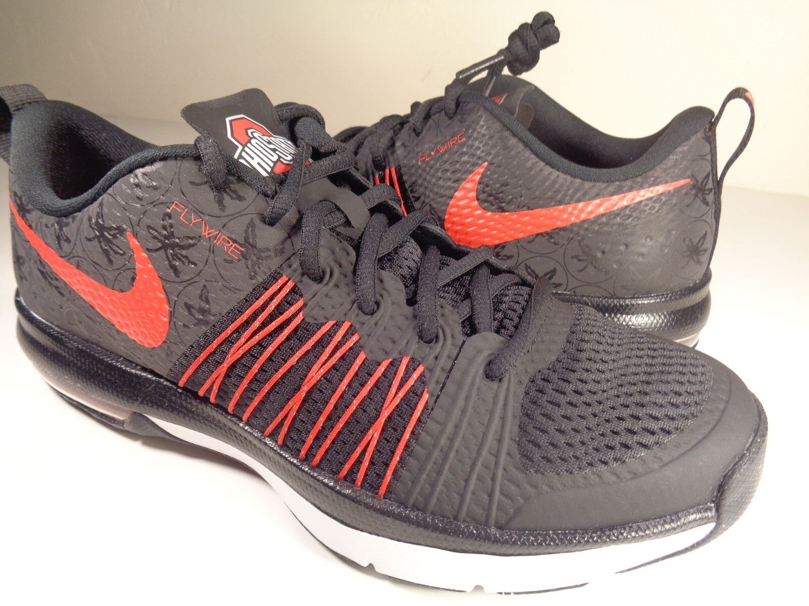 Nike Air Max Effort TR AMP Ohio State Buckeyes SZ 7.5    damen 9  (705367-061)