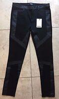 Mexx Women's Slim Tight Fitting Black Pants 8
