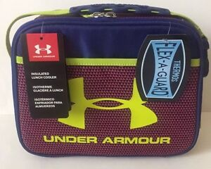 Image is loading NEW-Under-Armour-Lunchbox-Bag-Insulated-Cooler-Purple- 93e47a544fb62