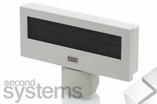 Wincor Nixdorf BA63 USB Kundenanzeige schwarz weiß ohne Stand