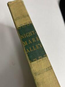 NIGHTMARE ALLEY William Lindsay Gresham 1ST EDITION 1946 RINEHART