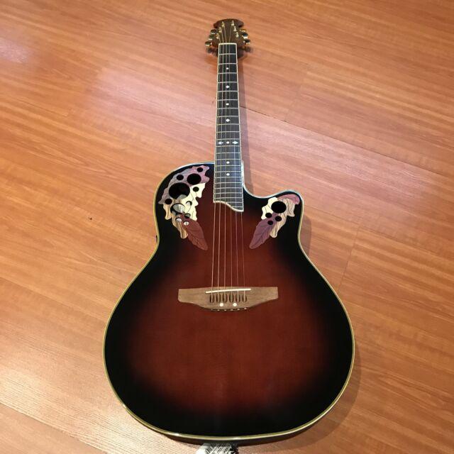 ovation cs 247 celebrity electric acoustic guitar for sale online ebay. Black Bedroom Furniture Sets. Home Design Ideas