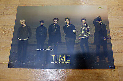 Time 7th Mini Album Beast B2ST Official POSTER* KPOP FOLDED POSTER