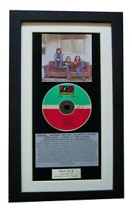 CROSBY-STILLS-NASH-1st-Debut-CLASSIC-CD-Album-QUALITY-FRAMED-EXPRESS-WORLD-SHIP