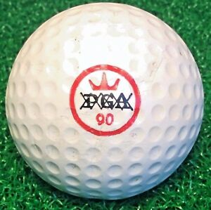 RARE Vintage PGA XXXXX Crown 90 Golf Ball #4 | eBay