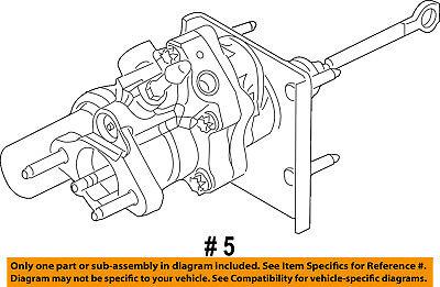 FORD Genuine DC3Z-2005-E  Ford Brake Booster Hydraulic F-250.F-350,F-450,F-550