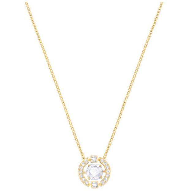 Swarovski 5284186, Sparkling Necklace, YG plated Aprx Length 38cm RRP $149