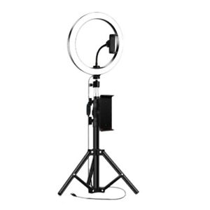 10Inch Light with Tripod Stand for IPad Photography Studio Video LED Lamp 5 E8I7