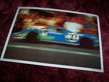 Photo / Fiche ELF 1970 MATRA MS 630 1968 //