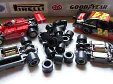 Tom's .400x.290 Slot Car Soft Black Silicone Racing Tires 10 Pair fit Life~Like