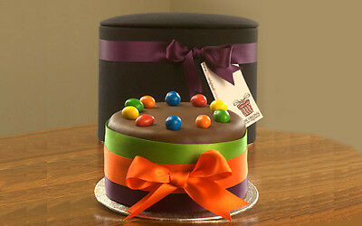 Admirable Personalised Chocolate Celebration Cake With Mms Ideal Funny Birthday Cards Online Necthendildamsfinfo