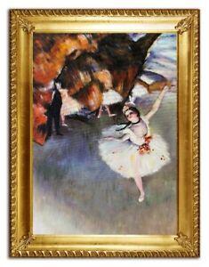 Olbild-Olbilder-Gemaelde-Bilder-Bild-Handgemalt-Ol-mit-Rahmen-Barock-Kunst-G96414