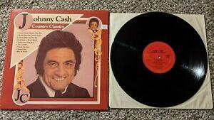 Johnny Cash Country Classics vinyl LP record 10 very best greatest hits CBS 1983