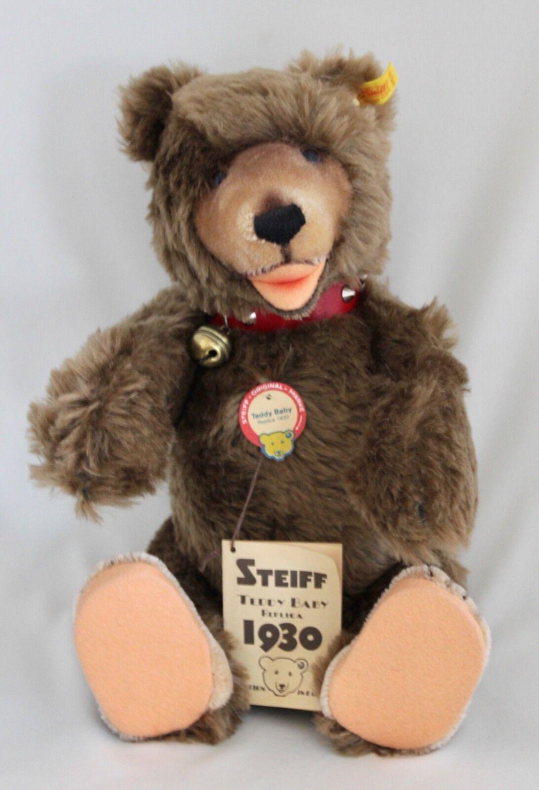 Steiff Teddy Baby Replica 1930 marrone Bear 14  EAN 0175/35 - PERFECT