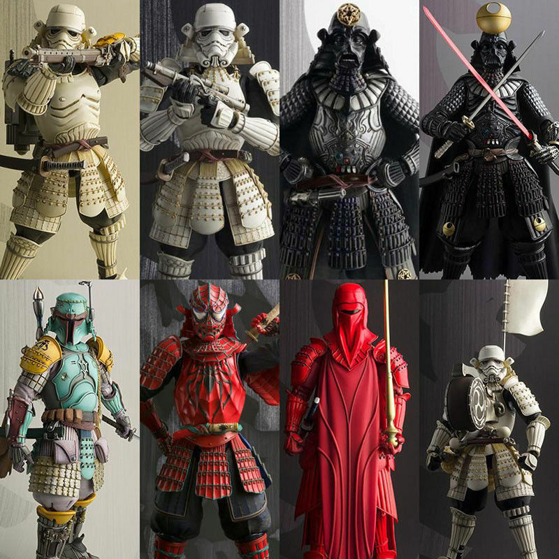 Star Wars Samurai action figures toy models Darth Vader Stormtrooper 11 versions