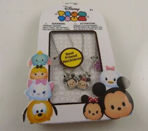 Disney-Mickey-amp-Minnie-Mouse-BFF-Best-Friends-necklace-tsum-tsum