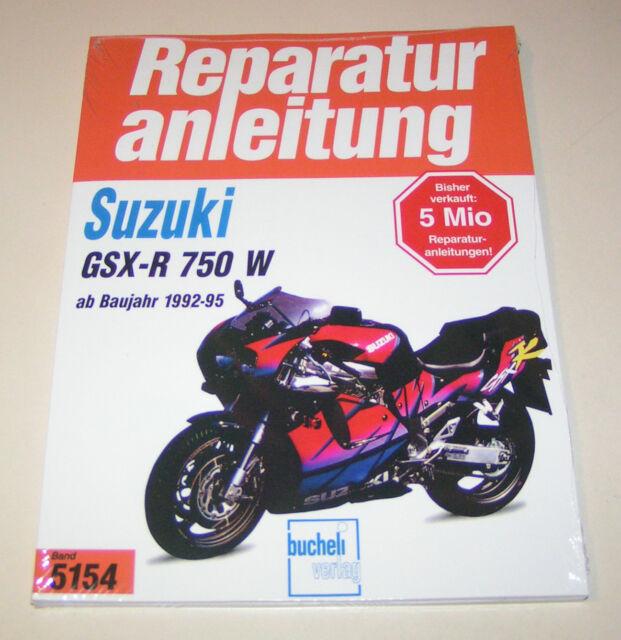 Manuel de Réparation Suzuki Gsx-R 750 W - à partir de L'Année 1992