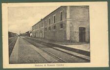 (Calabria - Cosenza) Stazione di Rossano Calabro. Viaggiata nel 1912