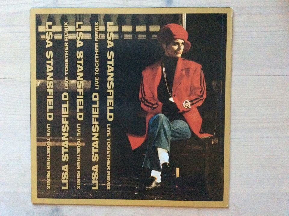 """Maxi-single 12"""", Lisa Stansfield, Live Together"""