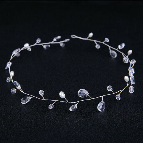 Ladies Metal Crystal Hair Clip Diamante Barrette Rhinestone Bobby Pin Slide Grip