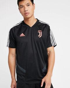 FC-Juventus-Adidas-Training-Shirt-Top-Black-2019-20-Climacool