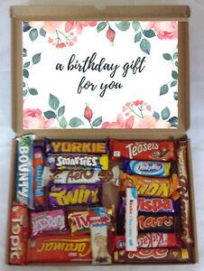 Personalised Birthday Present 20 Cadburys Nestle Chocolate Gift