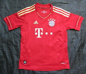 pretty nice 7ff0c 54d53 BAYERN MUNICH München home shirt jersey ADIDAS 2012-2013 ...