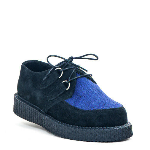 bottes & jambes CREEPER noir new fur-ROCKABILLY-Gothique