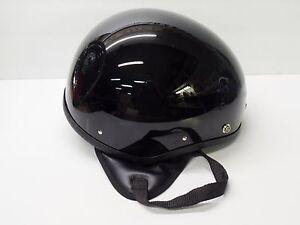 Image Is Loading Nos Vintage Half Helmet Xl Bowl Flat Board