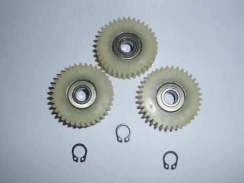 36 dents Phrase seegerringe 8 mm Engrenages de rechange pour bafang 250 W-moteurs-Nylon