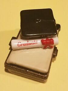 Midwest of Cannon Falls Porcelain Hinged Box Tootsie Roll PHB