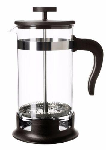 IKEA Teezubereiter Kaffeebereiter 1 L Glas Pressfilterkanne Teekanne Teesieb NEU