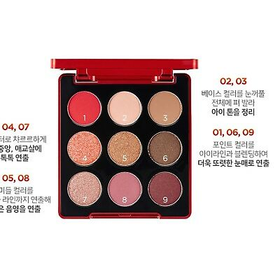 [THE FACE SHOP] Coca-Cola  Eye shadow / (Mavel)  / 9 color palette