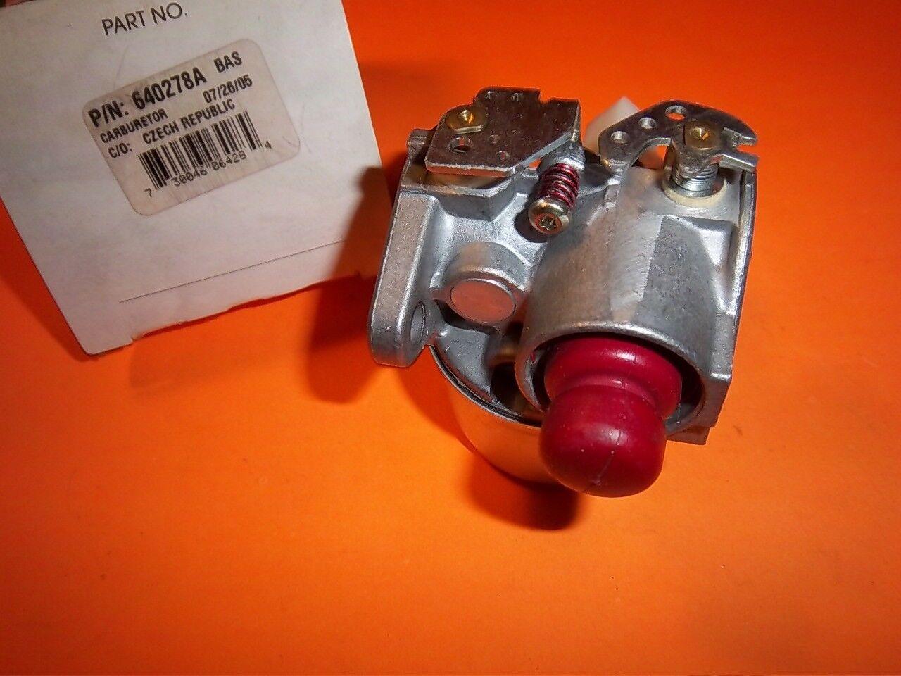 Nuevo Oem Tecumseh Cocheburador Assy 640278A Envío Gratuito TC6