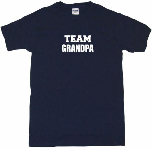 Team Grandpa Kids Tee Shirt Boys Girls Unisex 2T-XL