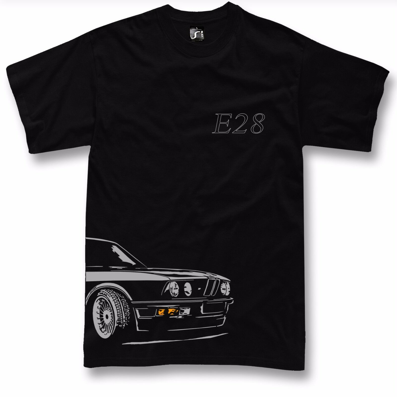 106ffaade98ac4 T-shirt for e28 fans 520 525 M535 t-shirt + long sleeve bmw M5 ...