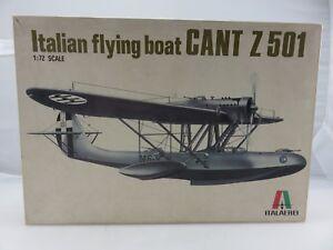 Italaerei-Italeri-ITALIAN-FLYING-BOAT-CANT-Z-501-1-72-Scale-Model-Kit-UNBUILT