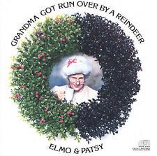Grandma Got Run Over By a Reindeer, Elmo & Patsy,Very Good, ### Audio CD with ar