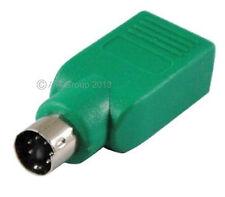 PS2 PS/2 Macho a USB Hembra Teclado Convertidor Adaptador De Carpintero