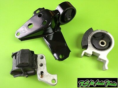Mount Set 3PCS 1996-1999 for Toyota Paseo 1.5L for Manual Engine Motor /& Trans
